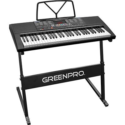 Best click n play greenpro 61 key Budget Keyboard Piano