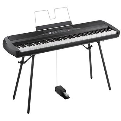 Best korg sp280bk digital piano Weighted Keyboard 88 Keys